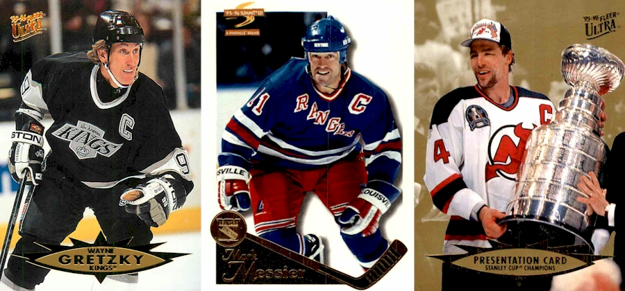 Wayne Gretzky - Mark Messier - Scott Stevens